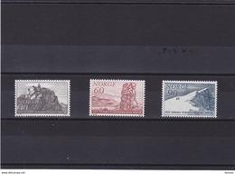 NORVEGE 1968 TOURISME Yvert 515-517 NEUF** MNH - Norwegen