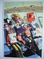 Avion / Airplane / Boeing B 747 / Air Hostess - 1946-....: Ere Moderne