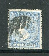 ESPAGNE- Y&T N°80- Oblitéré - 1850-68 Königreich: Isabella II.