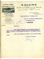 COFFRES FORTS BAUCHE - VERNIE (72) 1920 - France