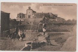 Cartolina - Calascibetta - Antico Convento Dei Cappuccini - Enna