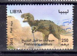 2013; Dinosaurier,  Gestempelt; Los 52422 - Libia