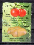 2014; Früchte Aus Libyen, Gem. Scan   Gestempelt; Los 52425 - Libia
