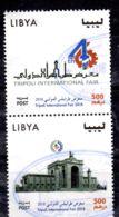 2018; Int. Messe In Tripoli, 2 Werte Aus Block Gestempelt, Gem. Scan, Los 52418 - Libia