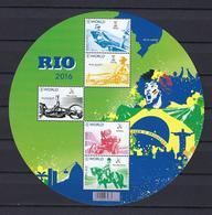 N°BL243 Rio 2016 MNH ** POSTFRIS ZONDER SCHARNIER SUPERBE - Bloques 1962-....