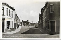 Zelzate - Kanaalstraat Met Brug. (links Café De Bijenkorf) - Zelzate