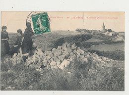 12 LA BESSE LE DOLMEN MONUMENT HORTORIQUE CPA BON ETAT - France