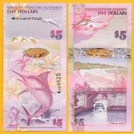 Bermuda 5 Dollars P-58 2009 UNC Banknote - Bermuda