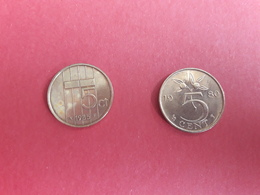 5 Cent 1980, 1985 - Pays-Bas