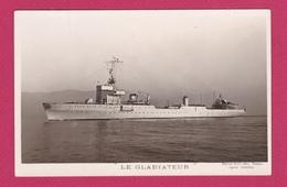 """BATEAU DE GUERRE - LE """" GLADIATEUR """" -PHOTO MARIUS BAR TOULON - Guerre"""