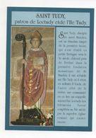 Statue De Saint Tudy Dans L'église De Loctudy - Loctudy