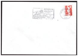 Timbre N° 2614 F Faux De MARSEILLE Sur Lettre De HYERES Du 3.1.91. - Frankreich