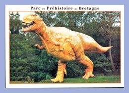 CPM - Parc De Préhistoire De Bretagne - Malansac (56) - Le Monde Des Dinosaures - Tyrannosaure - Autres