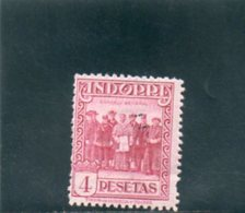 ANDORRE ESP. 1929-37 * DENT 14 - Nuevos