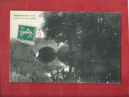 CPA  - Champlan   -(S.-et-O.) -  Le Pont Et La Route De Saulx - Altri Comuni