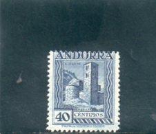 ANDORRE ESP. 1929-37 * DENT 14 - Andorra Spagnola