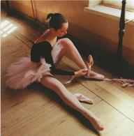 CARTE NEUVE 14 X 14 CMS LA BALLERINE - Danses