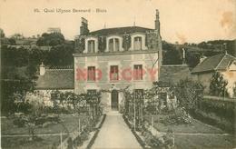 SL 41 BLOIS. Maison Et Potager Quai Ulysse Besnard écrite Par L'occupante... - Blois