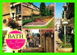 BATH, UK - 5 MULTIVUES - BATH THE FLORAL CITY - J. SALMON LTD - - Bath