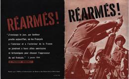 PRESSE PROPAGANDE GUERRE 1939 1945  REARMES ! ARMEE FRANCAISE DE LIBERATION - 1939-45