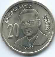 Serbia - 2011 - 20 Dinara - KM53 -Ivo Andrić - Servië