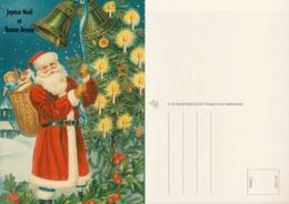 Père Noel, Hôte, Jouets, Sapin, Cloches - Santa Claus