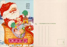Père Noel En Traineau,  Jouets - Santa Claus