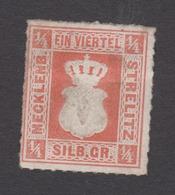 Mecklenburg - Strelitz Nr 1 A (?)- Ohne Gummierung, Falzrest - Nicht Geprüft - Mecklenburg-Strelitz