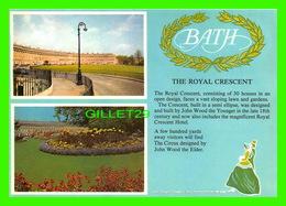 BATH, UK - THE TOTAL CRESCENT - 4 MULTIVUES FROM BATH - J. ARTHUR DIXON LTD - - Bath