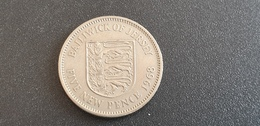 JERSEY  :  5 Pence 1968 - Jersey