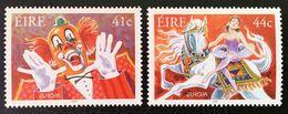 (!)  EUROPA CEPT De 2002  Thème Du Cirque  IRLANDE Y&T 1439/1440  Neuf(s) ** Mnh - 2002