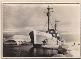 Marine / Le CHARCOT En Terre Adélie Carte-photo Roger Péron, Morgat - Bateaux