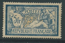 FRANCE N°123 Neuf Légère Trace. Cote 100€. Centrage Non Compté. - 1900-27 Merson