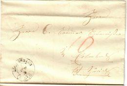 1855. Eschenbach. BoM. - Lettres & Documents