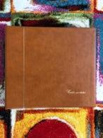 ALBUM SAFE - CONTENANCE 240 CARTES POSTALES ANCIENNES - PAGES TRANSPARENTES / BLANCHES OU NOIRES - TRES BON ETAT - Materiali