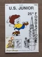 """Cartolina Ufficiale Annullo """"25° Anniv. Fondaz. U.S. Junior Modena Pattinaggio Artistico"""" Modena 2-2-1992 - Pattinaggio Artistico"""
