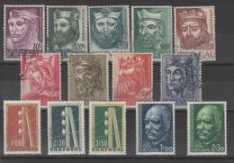 Portugual _ ( 1955 ) N ° 817 /830 - Sin Clasificación