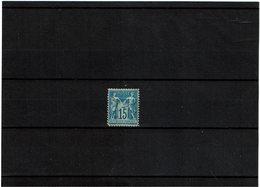 VARIETE - SAGE 15c FAUX DE CHALON NEUF SANS GOMME (*) - 1876-1898 Sage (Tipo II)