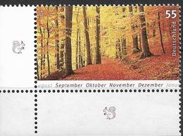 2006 Allem. Fed. Deutschland  Germany  Mi. 2564 **MNH  EUL   Herbstlicher Buchenwald - [7] République Fédérale