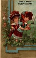 CHROMO CHOCOLAT POULAIN DEMOISELLE - Poulain