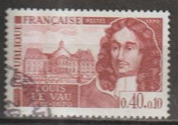 FRANCE : N° 1623 Oblitéré (Personnages Célèbres : Louis Le Vau) - PRIX FIXE - - France