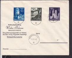 Brief Generalgouvernement  Stempel Warschau 1940 , Behrens Braunschweig - Germany