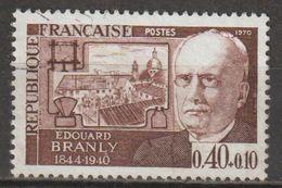 FRANCE : N° 1626 Oblitéré (Personnages Célèbres : Edouard Branly) - PRIX FIXE - - France
