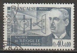 FRANCE : N° 1627 Oblitéré (Personnages Célèbres : Maurice De Broglie) - PRIX FIXE - - France