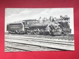 N°2038. LOCOMOTIVE A VAPEUR. SERIE « LOCOMOTIVES DU CANADA ». MACHINE TYPE 4-4-0 ET 4-8-4 CANADIAN NATIONAL RAILWAY… - Trains