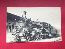 N°2039. LOCOMOTIVE A VAPEUR. SERIE « LOCOMOTIVES DE L'AUTRICHE »… DOS AVEC TOUTES LES CARACTERISTIQUES DE LA MACHINE. - Trains