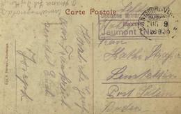 Guerre 14-18. FELDPOST. JEUMONT Bahnhof. Deutsche Militar Eisenbahn. TRES PEU COURANT - WW I
