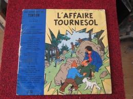 BACPLASTCAV Disque BANDES DESSINEE ANNEES 50/60 TINTIN L'AFFAIRE TOURNESOL 33T 25cm - Disques & CD
