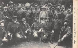 20-6900 :   LE 14 JUILLET A PARIS .1916.  NOS ALLIES. EDITION E. LE DELEY. ELD. - Guerre 1914-18