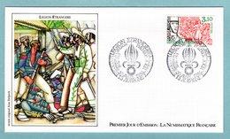 FDC France 1984 - Légion étrangère - YT 2311 - 13 Aubagne - FDC